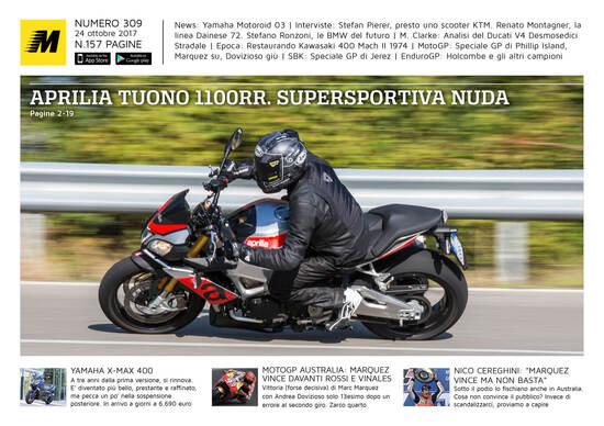 Magazine n° 309, scarica e leggi il meglio di Moto.it