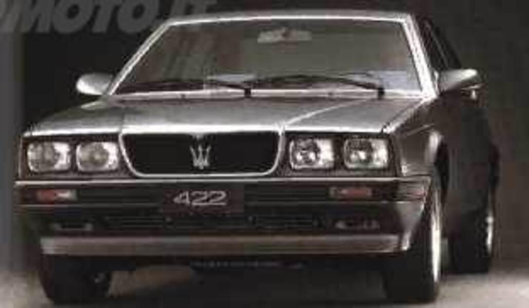 maserati biturbo 422 (05/1988 - 05/1992): prezzo e scheda tecnica