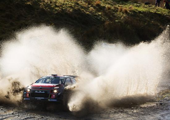 WRC 2017/Citroen. Galles Day 1. Un passo avanti per la velocissima C3 WRC