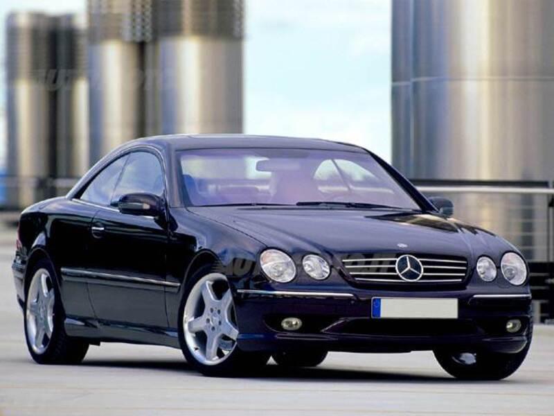 Mercedes benz cl 55 cat amg 11 2000 09 2002 prezzo e for Mercedes benz cl 240