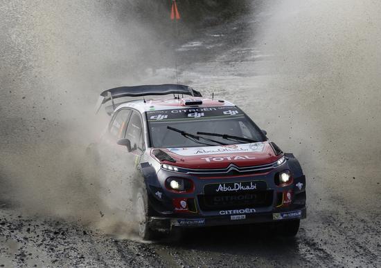 WRC 2017/Citroen. Galles Day 2. Rally difficilissimo ed entusiasmante. Meeke è settimo assoluto