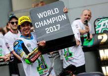Morbidelli è campione del mondo di Moto2