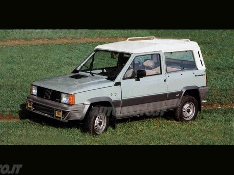 moretti panda cabrio rock 4x4 12 1986 12 1989 prezzo. Black Bedroom Furniture Sets. Home Design Ideas