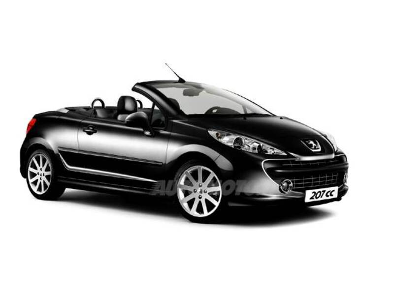peugeot 207 cabrio hdi 110cv cc roland garros 05 2008. Black Bedroom Furniture Sets. Home Design Ideas
