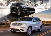 Quale comprare, Confronto: Jeep Grand Cherokee CRD Vs Porsche Cayenne Diesel