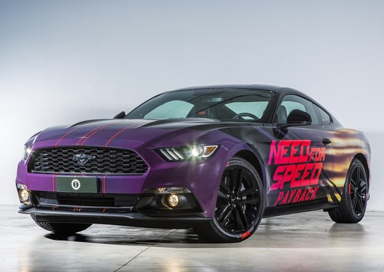 Ford Mustang Need for Speed Payback, firmata Garage Italia Customs