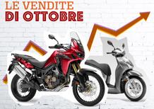 Mercato a ottobre molto positivo per moto e scooter: +22,6%. Il 2017 a +8%