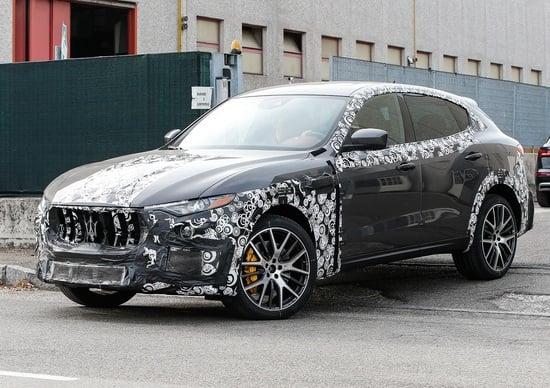 Maserati Levante, test per la versione GTS