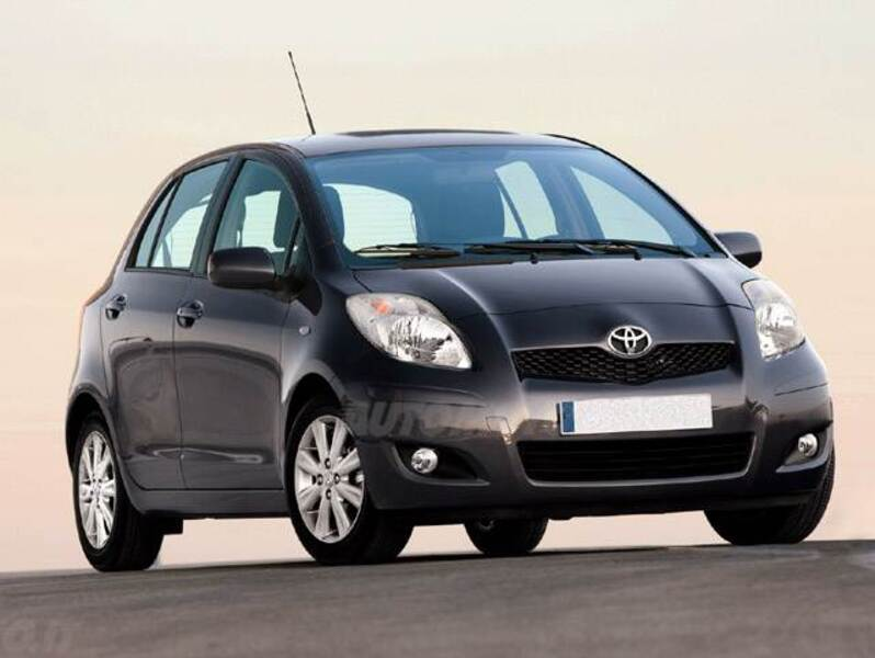 Toyota Yaris 1.3 5 porte M-MT Sol