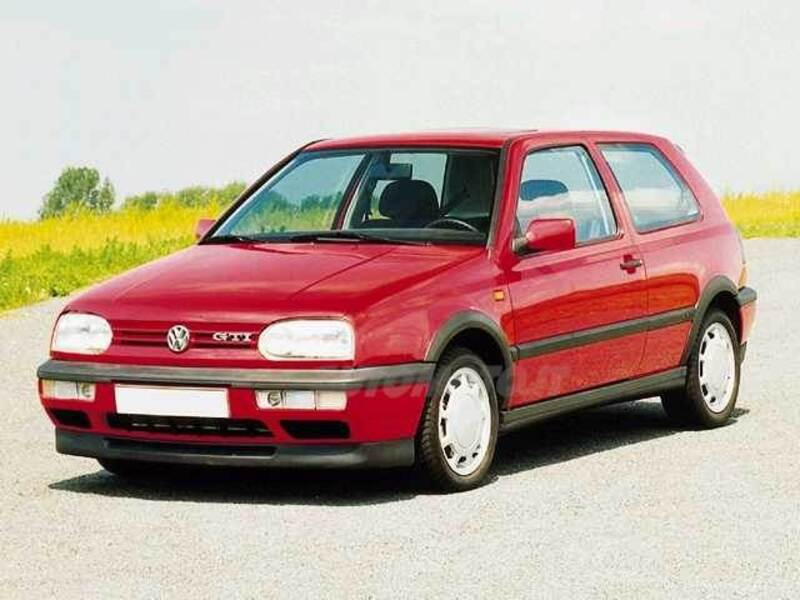 Volkswagen Golf 1.6 cat 3 porte GT