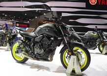 EICMA 2017: Yamaha MT-07, foto e dati [VIDEO]