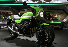 EICMA 2017: Kawasaki Z 900RS CAFE, foto, video, dati e prezzi