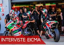"""EICMA 2017, Romano Albesiano: """"Aprilia MotoGP e SBK cresceranno"""""""