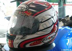 CASCO Suomy SPEC 1R ITALIAN FLAG