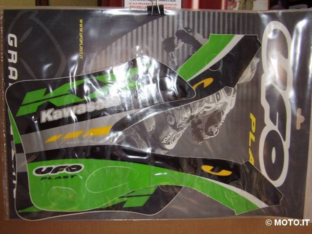 grafiche adesive Kawasaki KX 125/250 99/02