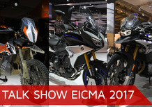 Talk show Eicma 2017: Maxi Enduro, Crossover e Adventure 2018