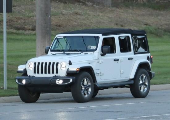 Jeep Wrangler 2018: la gallery spia definitiva