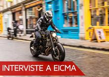 East EICMA, Winston Yeh (Rough Crafts): Non uso cromature