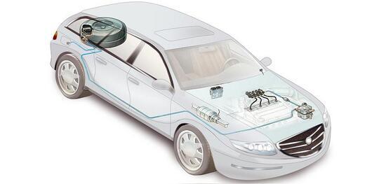 Una sintetica visione degli elementi aggiunti per un impianto a gas sull'auto