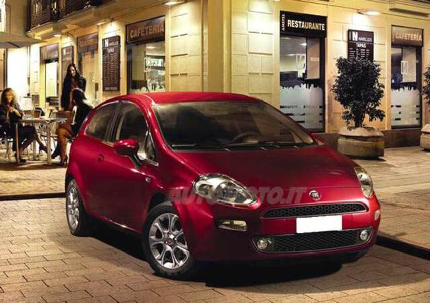 Fiat Punto 1.4 S&S 8V Dualogic 3 porte Lounge