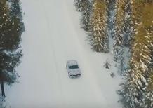 Lamborghini Urus: eccolo in azione sulla neve [video]