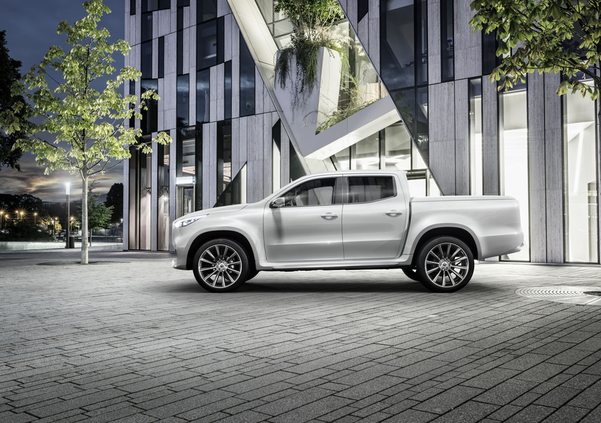 Mercedes-Benz Classe X Pick-up 220 d 4Matic Progressive Business (2)