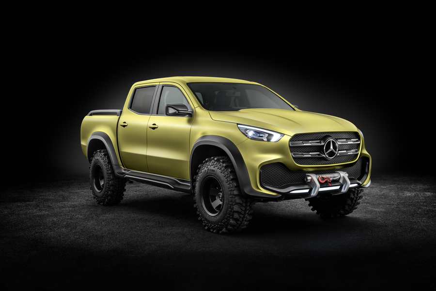 Mercedes-Benz Classe X Pick-up 250 d 4Matic Power