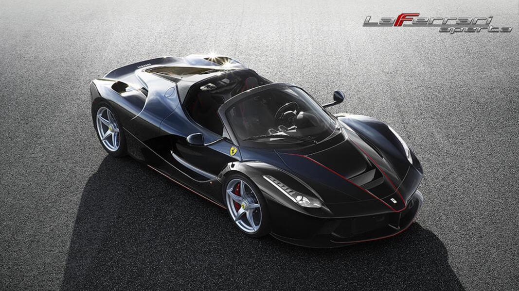 Ferrari LaFerrari Spider LaFerrari Aperta (3)