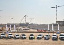Nissan, flotta elettrica per Expo 2020 a Dubai