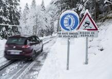 Gomme invernali: gli obblighi all'estero