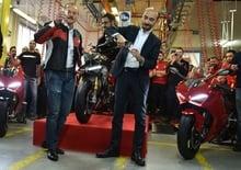 Ducati: al via la produzione della Panigale V4