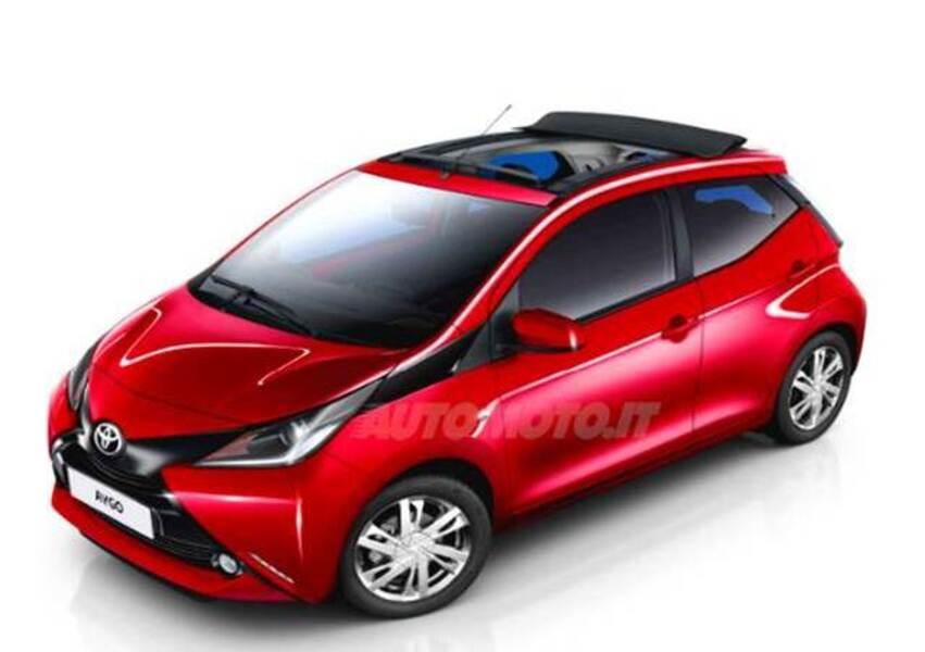 Toyota Aygo 1.0 VVT-i 69 CV 5 porte x-wave MMT