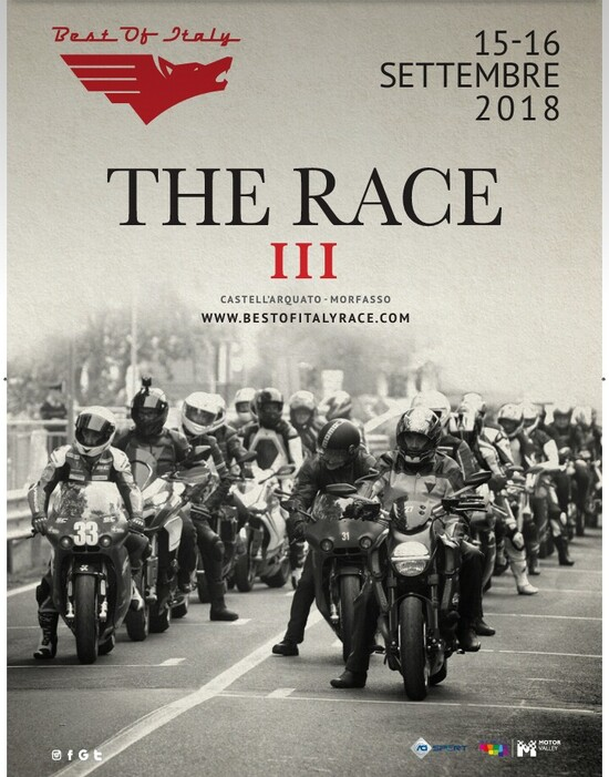 Best of Italy Race 2018: save the date