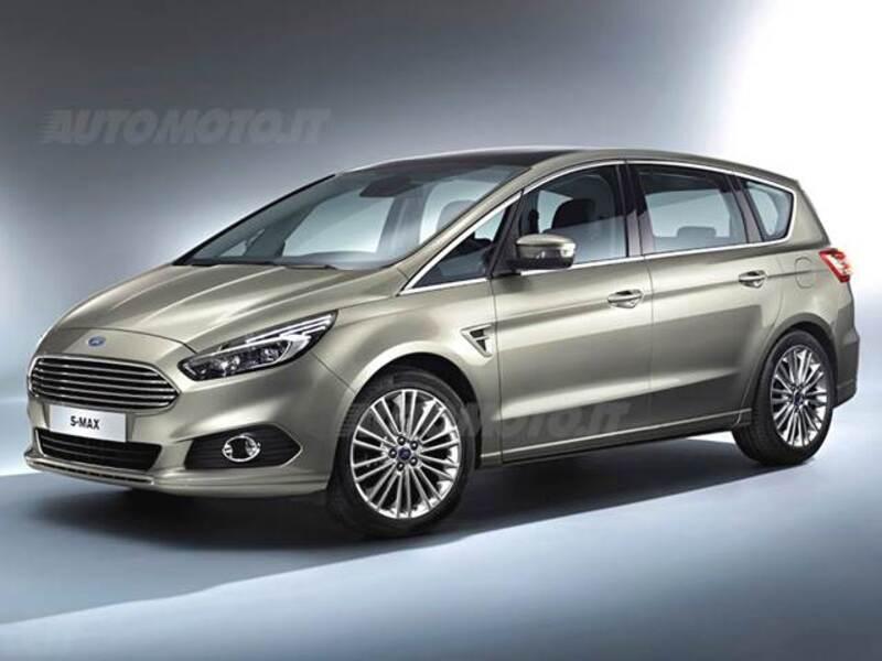 Ford S-Max 2.0 TDCi 180CV Start&Stop 7 posti Titanium Business