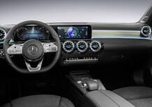 Nuova Mercedes Classe A, le foto degli interni