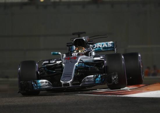 F1, GP Abu Dhabi 2017, FP3: Hamilton davanti a tutti