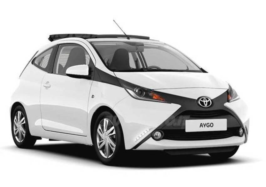 Toyota Aygo 1.0 VVT-i 69 CV 3 porte x-wave