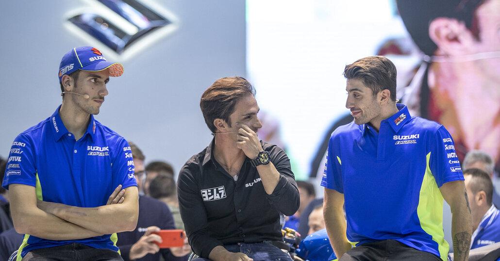 Suzuki Speed-date: Elias, Rins e Iannone