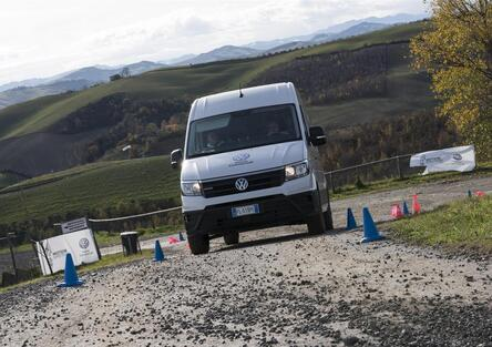 Volkswagen Crafter 4Motion: inarrestabile!