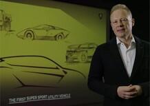 Lamborghini Urus: il design [video]