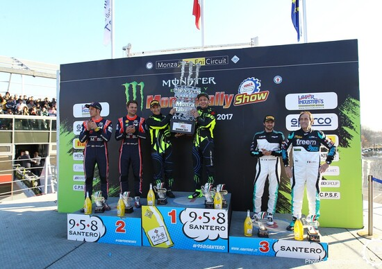 Monza Rally Show 2017, Day3: Rossi vincente all'ultimo