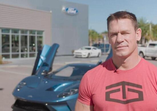 John Cena denunciato da Ford per aver venduto troppo presto la sua GT