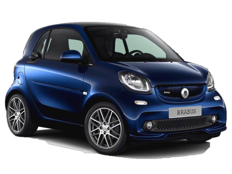 smart fortwo BRABUS 0.9 Turbo twinamic parisblue Xclusive