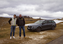 Skoda Octavia Wagon RS: a lezione da Scandola [Video]