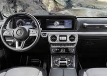 Nuova Mercedes Classe G, svelati gli interni