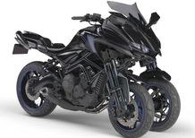 Yamaha MWT-9, la moto a tre ruote
