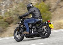 Triumph Bonneville Bobber Black 2018 TEST