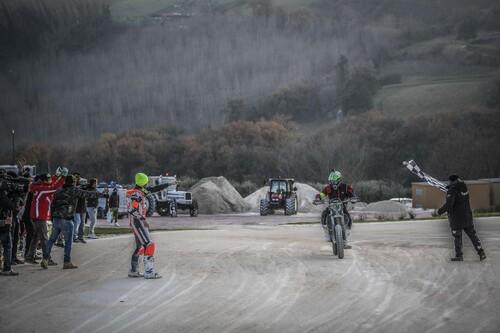 Morbidelli e Pasini vincono la 100 km dei Campioni al Ranch di Rossi (2)