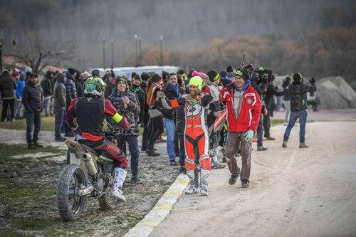 Morbidelli e Pasini vincono la 100 km dei Campioni al Ranch di Rossi (5)
