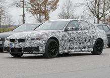 Nuova BMW M3 2019: i muletti in strada